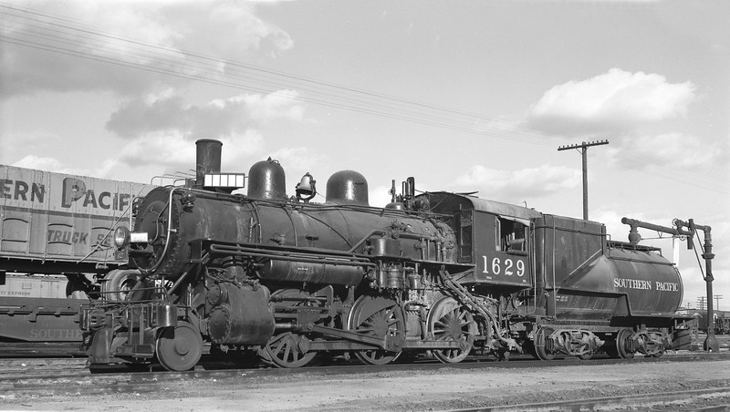 1629 Class M-4, left side, (probably Tucson AZ), ~1956<br /> (H. F. Stewart)