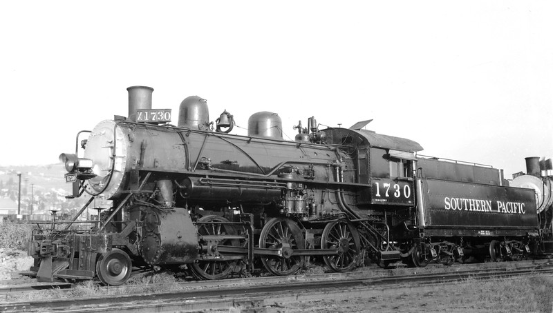 1730 Class M-6, left side, Los Angeles CA, 10/11/53 <br /> (F. A. Stindt)