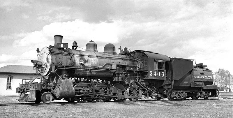 3406 Class C-18, right side, Douglas AZ, 3/4/57  <br /> (H. F. Stewart)