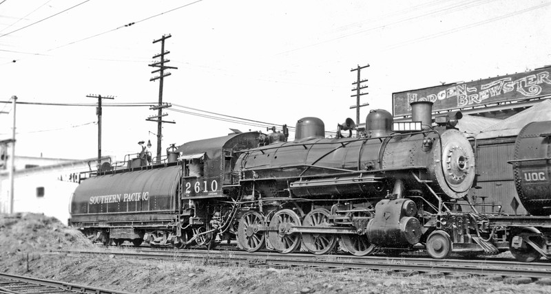 2610 Class C-2, right side, Portland (Brooklyn) OR, 7/21/47 <br /> (W. C. Whittaker)