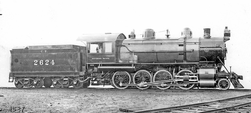 2624 Class F.E. (later C-5), right side, Baldwin-Philadelphia PA, Dec. 1901  <br /> Builder's photo  (H. L. Broadbelt collection)