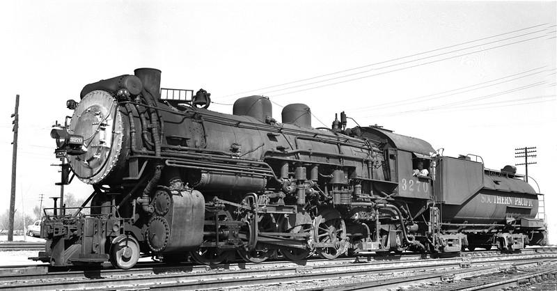 3270 Class Mk-5, left side, Colton CA, 2/22/53 <br /> (Allan Youell)