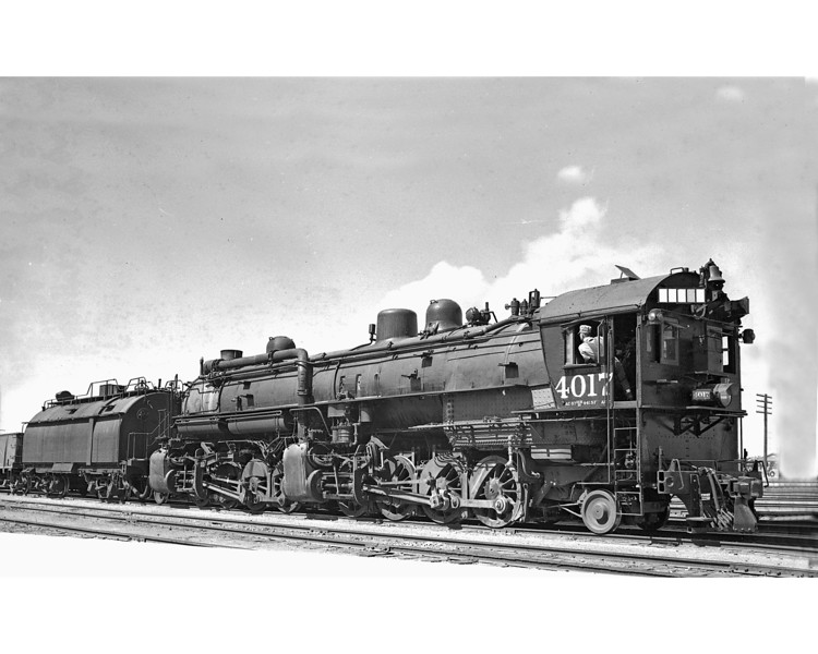 4017 Class AC-2, right side, Mojave CA, 6/7/41  <br /> (F. C. Smith)
