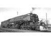 3809 Class AC-9, right side, (Oil fuel; replacement tender), El Paso TX, 1/31/53   <br /> (W. C. Whittaker)