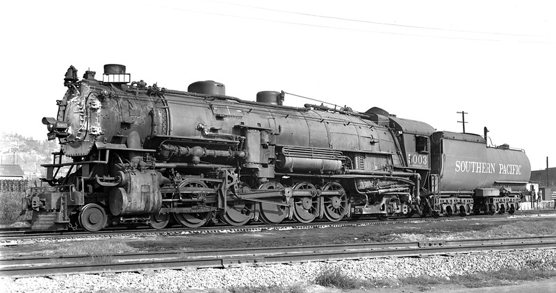 5003 Class SP-1, left side, Los Angeles CA, 10/31/48  <br /> (Allan Youell)