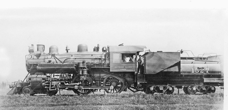 1527 Class E-27, left side, Sacramento CA, ~1911 <br /> (SP Photo)