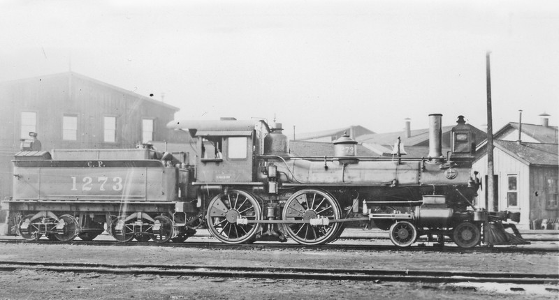 1273 Class E-63 16/24 39 (was C.S.), right side, West Oakland CA, ~1905 <br /> (H. K. Vollrath collection)