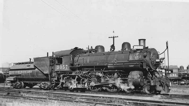 3057 Class A-3, right side, Tracy CA, ~1946 <br /> (C. C. Grayson collection)