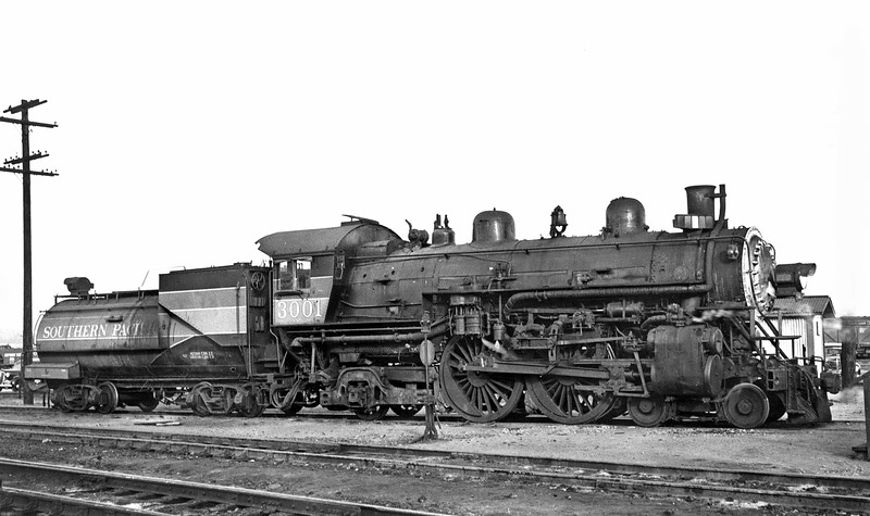 3001 (2nd) Class A-6, right side, Bayshore CA, 3/4/50  <br /> (D. S. Richter)