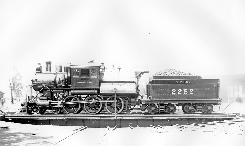 "2282 Class T-63 19/26 97, left side, (""Mother Hubbard"" or ""Camelback"" type), <br /> Los Angeles CA, May 1901  <br /> (SP Photo)"