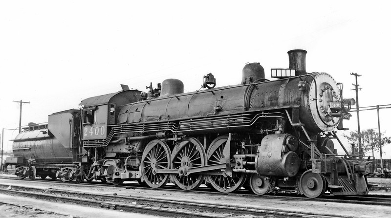 2400 Class P-1, right side, West Oakland CA, 12/31/47  <br /> (J. A. Strapac collection)