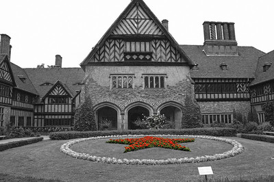Schloss Cecilienhof in Potsdam, Germany