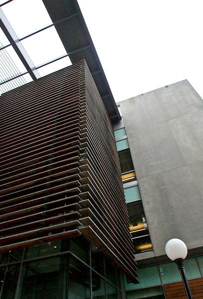 WWU Campus building