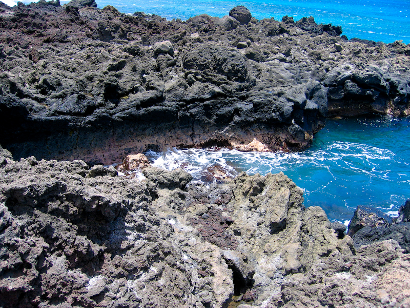 Maui - Lava Flows near La Perouse Bay