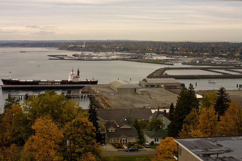 Bellingham Bay - from the music room where I hung out a lot.