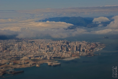Another San Francisco picture from plane