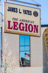 American Legion - Yates Sign