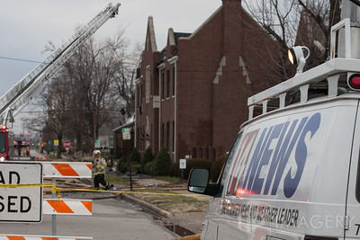 First Christian Church - Fire/Damage