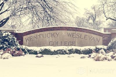 KWC - Snowy Sign