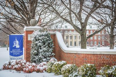 Snowy KWC Entrance