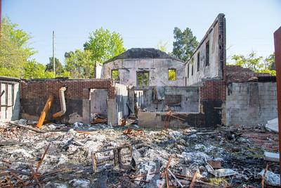 Arson - Mt. Zion Methodist Church