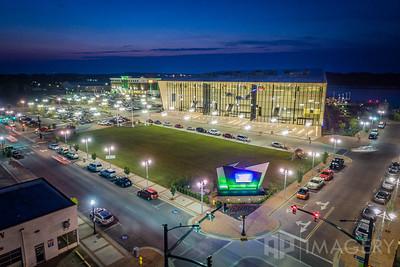 Aerial - Owensboro Convention Center