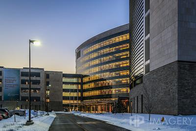Hospital in Winter