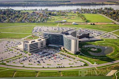 Aerial - Owensboro Health Regional Hospital