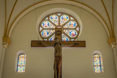 St Meinrad - Crucifix
