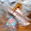 Native American Dancing 11 (intentional motion blur)