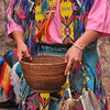Native American Dancing 7 contribution basket