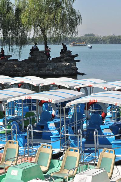 China's capital Beijing: Lake 1