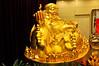 China's capital Beijing: Happy Buddha in Restaurant