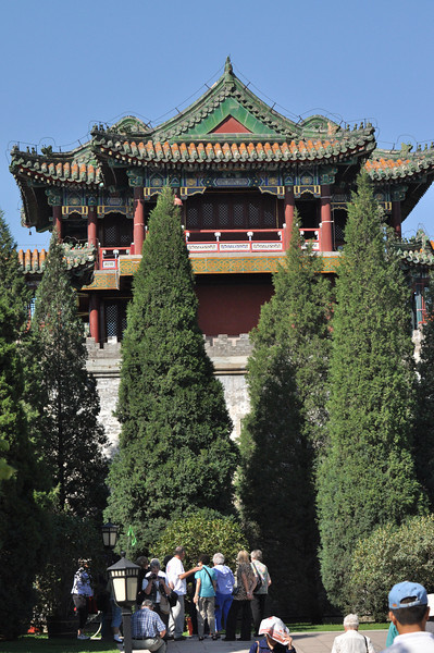 China's capital Beijing: Edifice