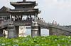 Bridge at Kunming Lake at the Summer Palace in Beijing.