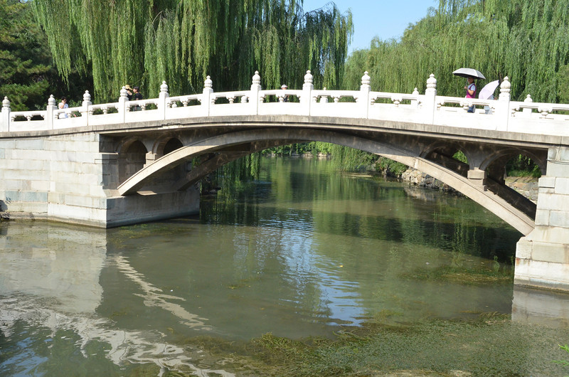 Bridge at Kunming Lake at the Summer Palace in Beijing (2)