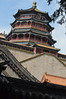 Roofs and stairs rise to the palace on Longevity Hill at the Summer Palace in Beijing. .