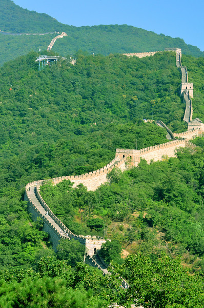 Mutianyu portion of the Great Wall of China (1)