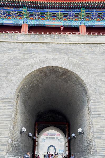 Zhengyangmen or Qianmen Gate Tower on the south side of Tiananmen Square, Beijing (4)