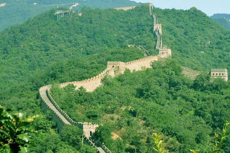 Mutianyu portion of the Great Wall of China (3)