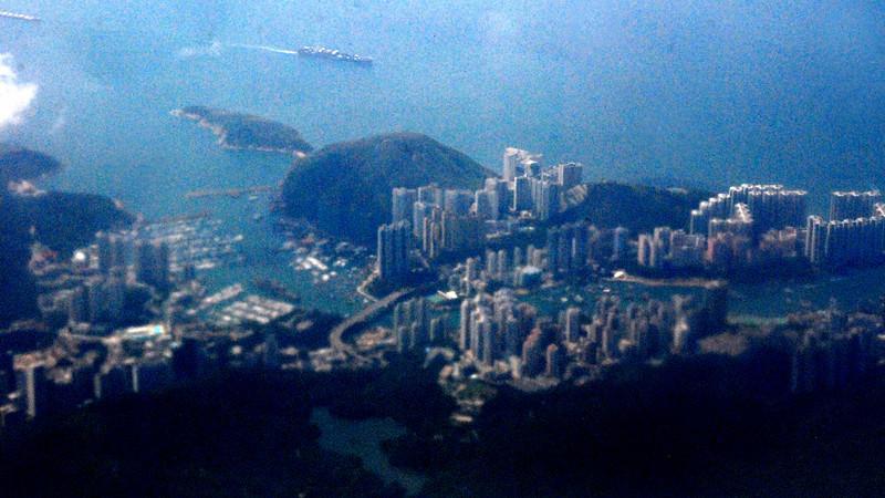 Hong Kong 46 From Air