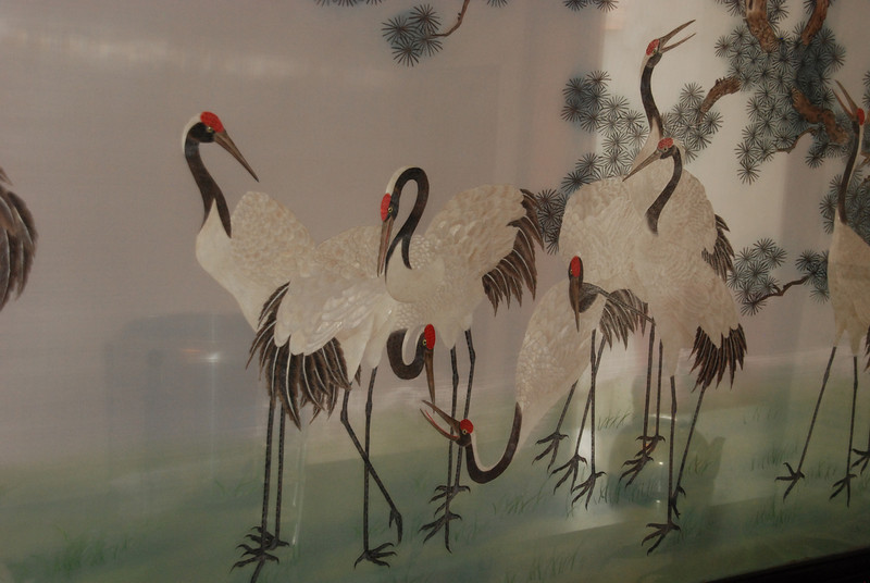 Human Hair Embroidery at Longmen Grottoes Restaurant 1 Longme