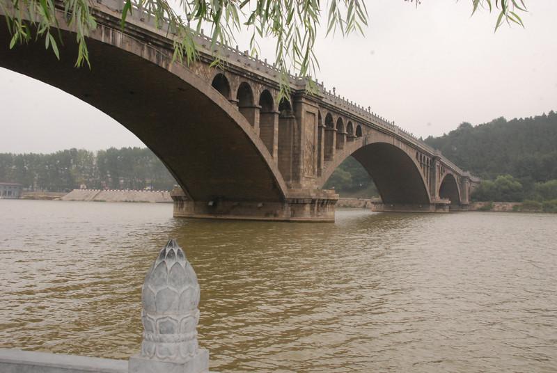 Bridge over the Yi River at Longmen Grottoes