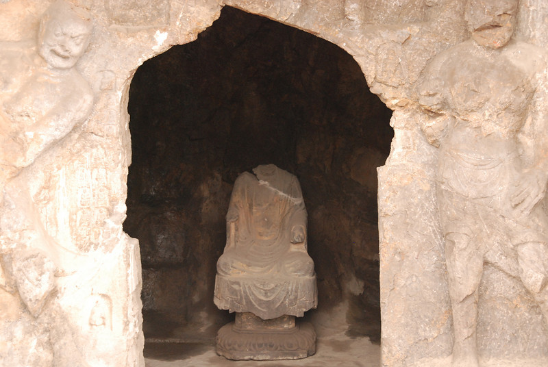 Headless Buddha Longmen Grottoes