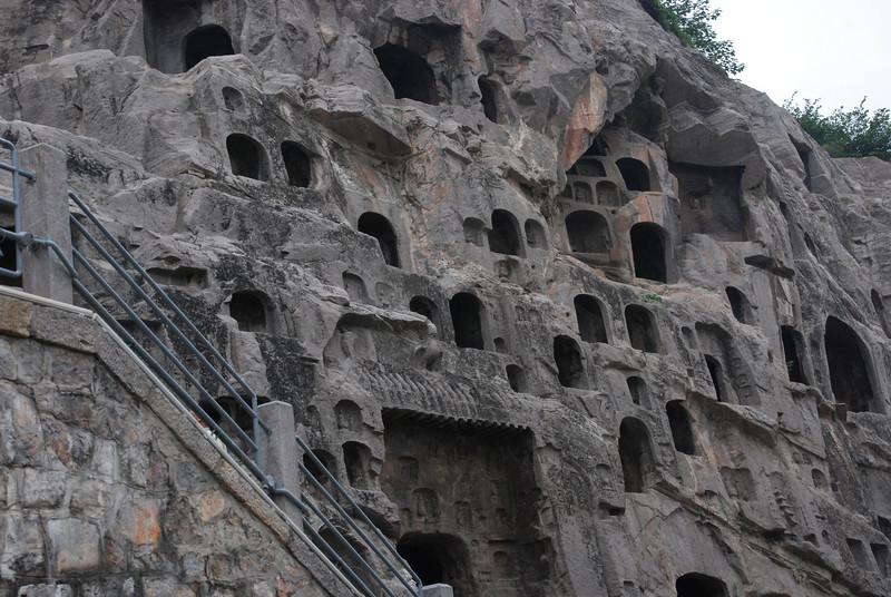 Cliffs of Longmen Grottoes 3