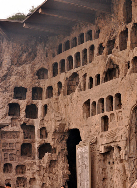 Longmen Grottoes Honeycomb