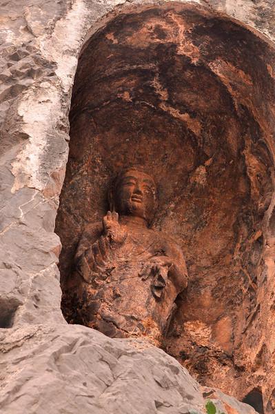 Buddha 5 Longmen Grottoes