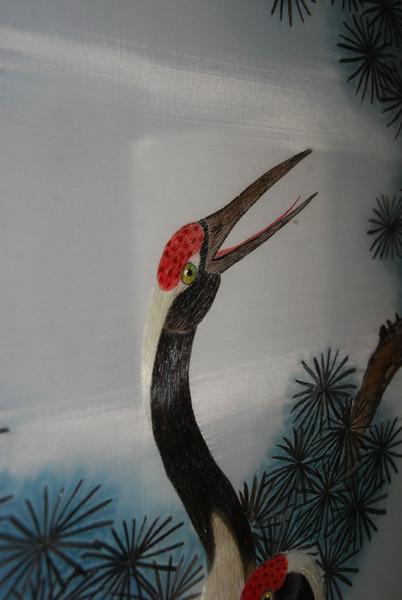 Human Hair Embroidery at Longmen Grottoes Restaurant 3
