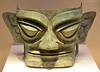 Bronze Mask; Unearthed at Sanxingdui in Sichuan Province 1986, on display at the National Museum of China, Beijing, People's Republic of China.