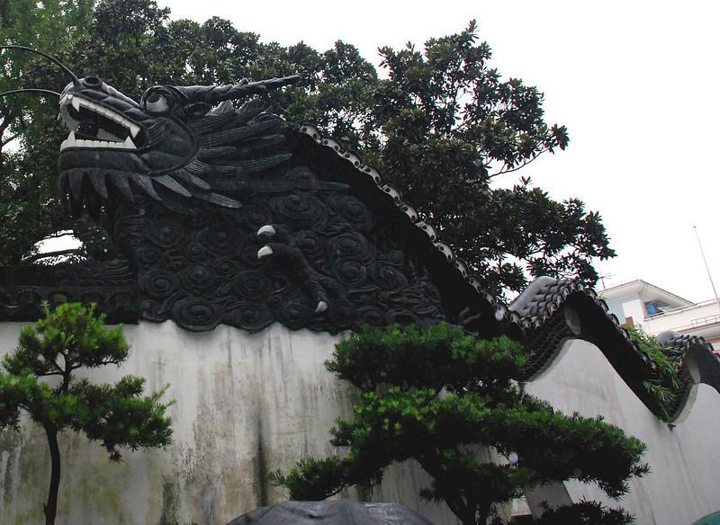 Dragon in Shanghai's Yuyuan Garden of 1559 Ming Dynasty 1